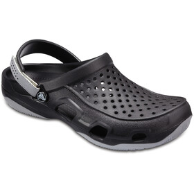 Crocs Swiftwater Deck Clogs Herren black/light grey